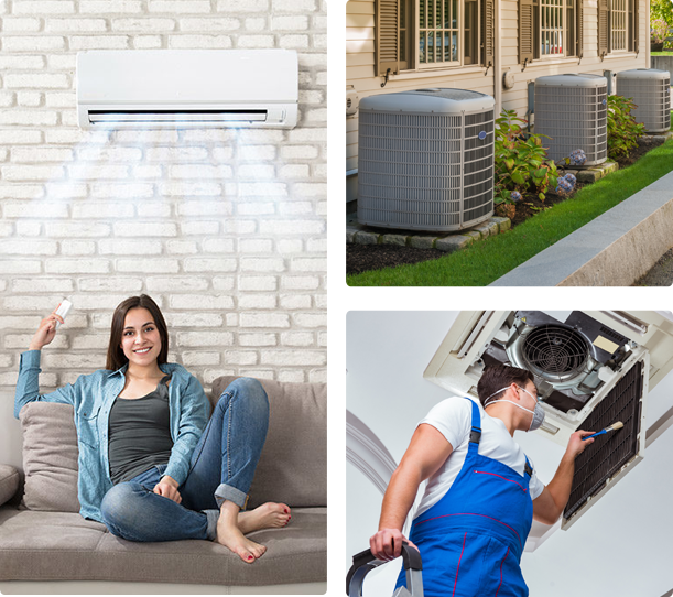 Air conditioning installation woodruff